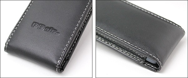 PDAIR レザーケース for iPod touch(5th gen.) バーティカルポーチタイプ