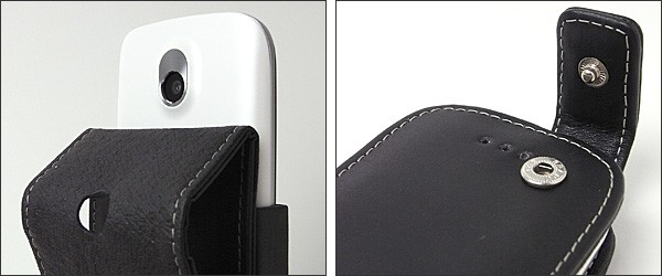 PDAIR レザーケース for Pocket WiFi S II(S41HW) 縦開きタイプ