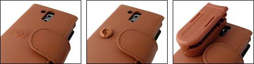 Piel Frama レザーケース for HTC Touch Pro ベルトクリップ