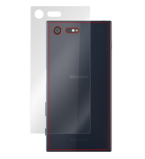 OverLay Plus for Xperia X Compact SO-02J 裏面用保護シート のイメージ画像