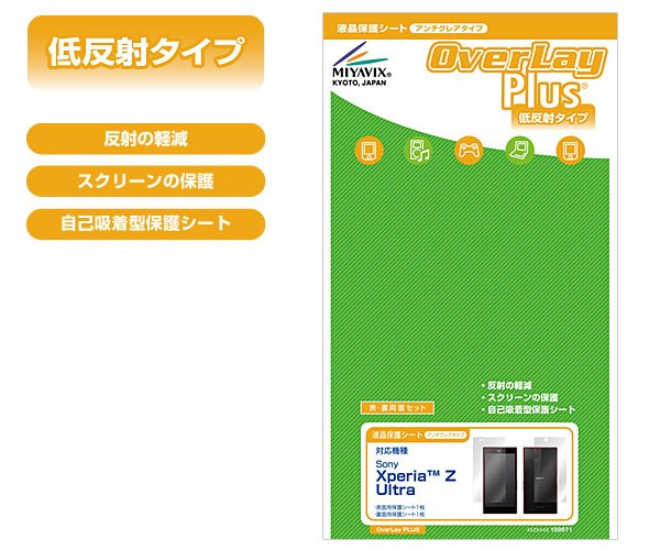 OverLay Plus for Xperia Z Ultra 『表・裏両面セット』