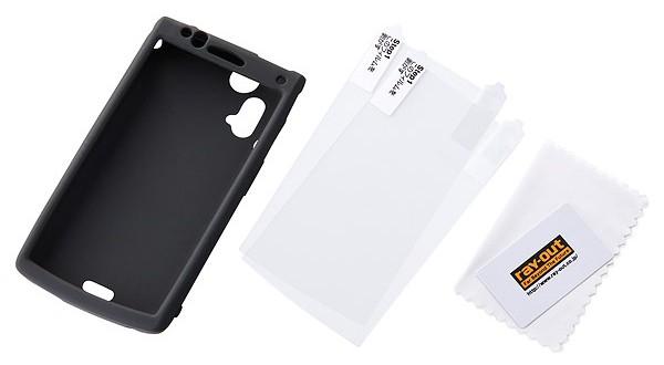 シルキータッチ シリコンジャケット for Xperia(TM) acro SO-02C/IS11S