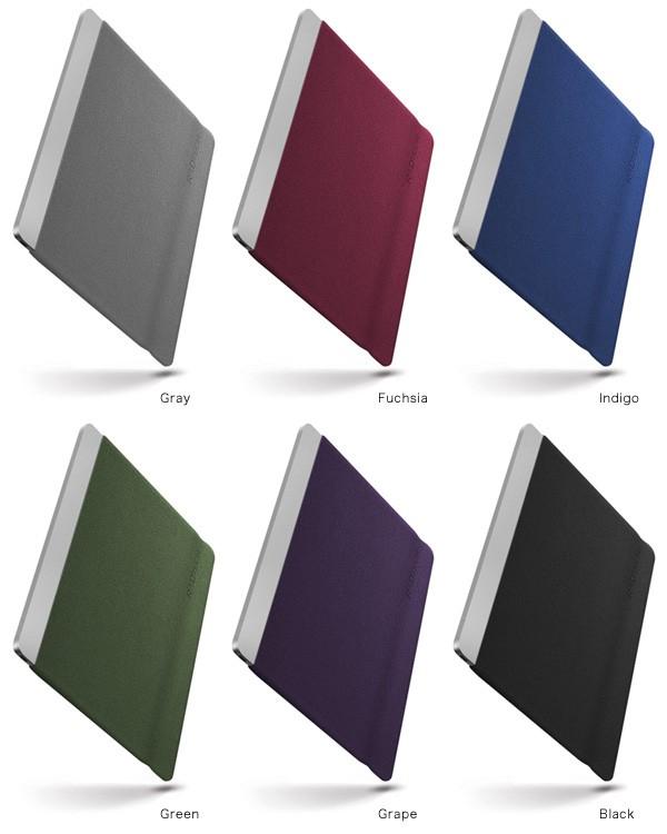 カラー Sleevz for MacBook 12インチ