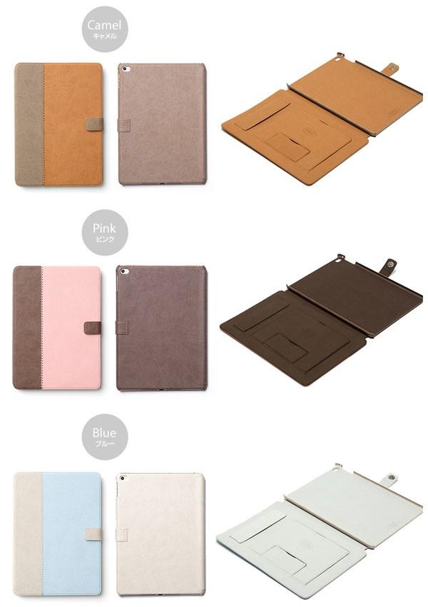 カラー ZENUS E-Note Diary for  iPad Air 2