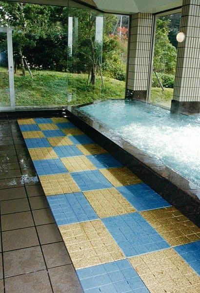 温泉施設 浴槽