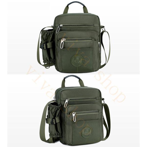 swisswin ショルダーバッグ ビジネスバッグ 大容量 メンズ バッグ レディース 斜めがけバッグ ミニショルダーバッグ 撥水 アウトドア 旅行 通勤 スクールバッグ viva-v1 19