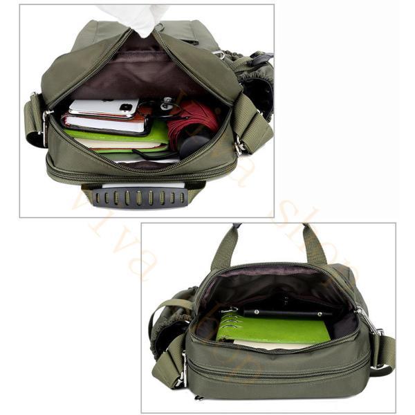 swisswin ショルダーバッグ ビジネスバッグ 大容量 メンズ バッグ レディース 斜めがけバッグ ミニショルダーバッグ 撥水 アウトドア 旅行 通勤 スクールバッグ viva-v1 20