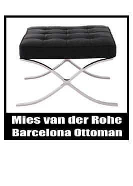 バルセロナチェア オットマン