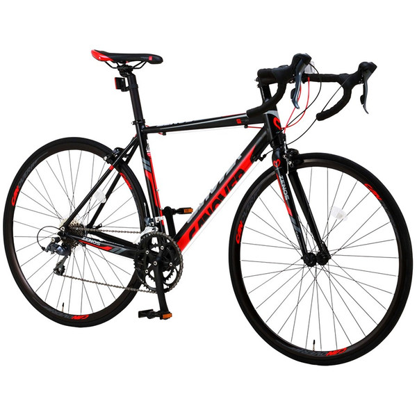 ロードバイク 自転車 700c シマノ16段変速 超軽量 アルミフレーム デュアルコントロールレバー 送料無料 CANOVER カノーバー CAR-011 ZENOS|voldy|20