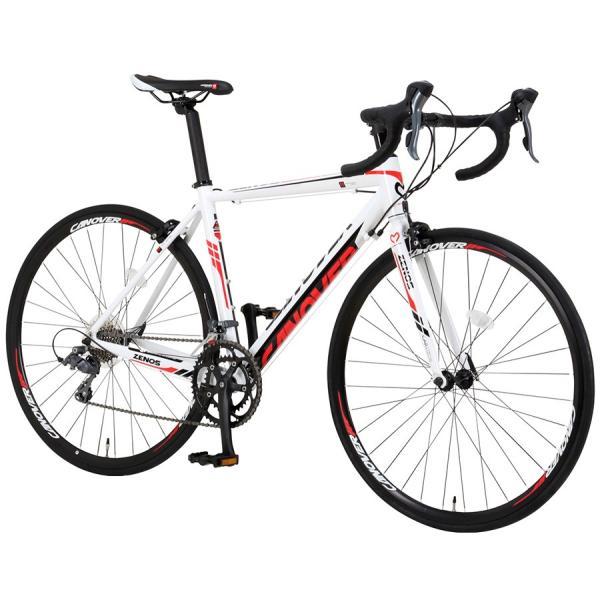 ロードバイク 自転車 700c シマノ16段変速 超軽量 アルミフレーム デュアルコントロールレバー 送料無料 CANOVER カノーバー CAR-011 ZENOS|voldy|21