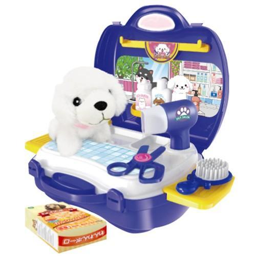 おままごとセット キッチン おもちゃ なりきりごっこあそびセット 男の子 女の子 2歳 3歳 4歳 メイク トリマー 猫 犬 ネコ イヌ クリスマス プレゼント RSL vt-web 14