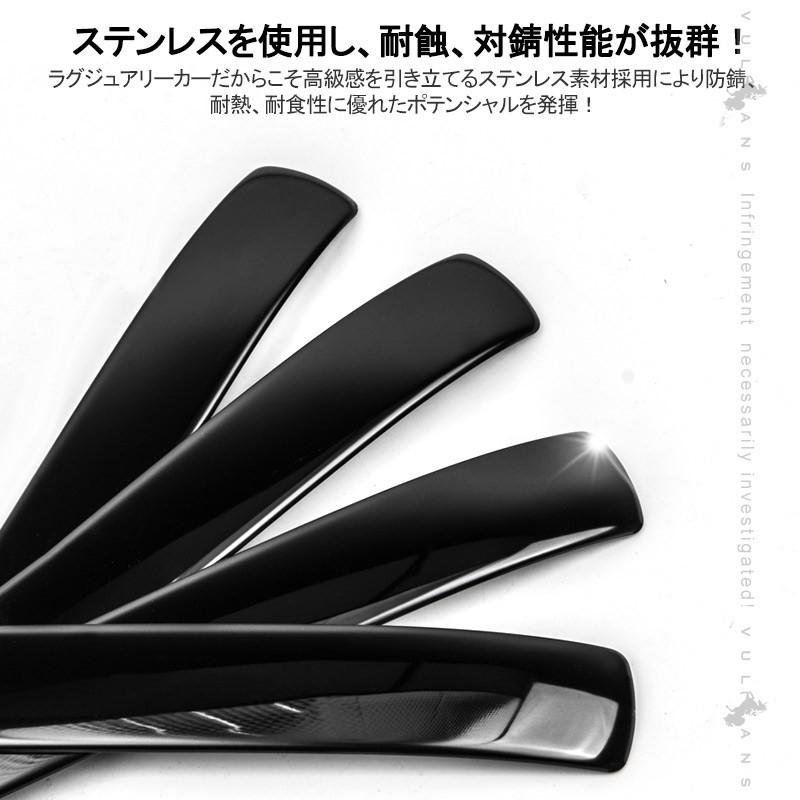 N-BOX NBOX カスタム JF3/JF4 ブラックステンレス ドアノブカバー ドアハンドルカバー 8Pセット 外装 パーツ カスタム エアロ アクセサリー ホンダ