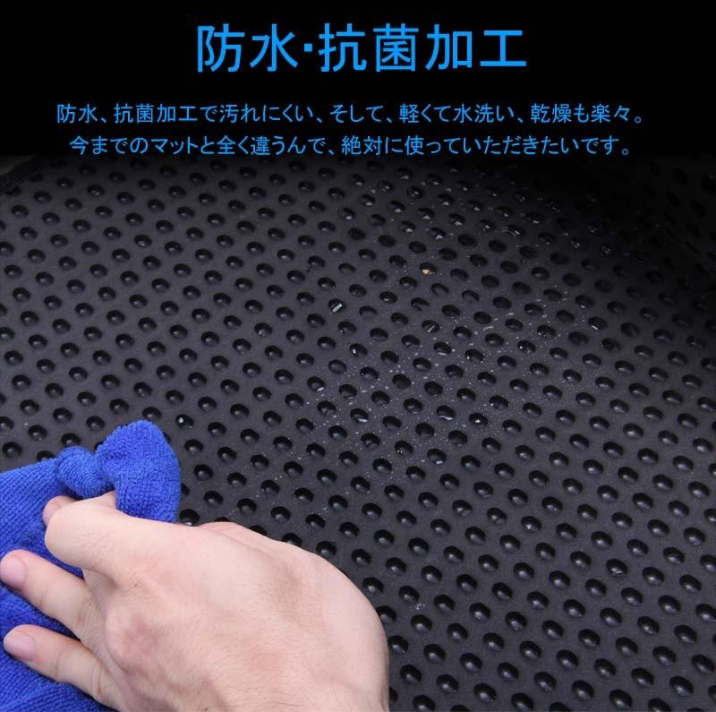汎用 セカンドラグマット EVA素材 2列目 120CM×40CM 汚れ防止 カー用品 スライドレール カーマット フロアマット 車用品 内装 パーツ NBOX ヴォクシー80系