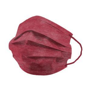 元祖 両面カラー 血色マスク 165mm 145mm 女性 子供 小さめサイズ 10枚ずつ個包装 血色カラー ひるおびで紹介 平ゴム WEIMALL やわらかマスク W-CLASS