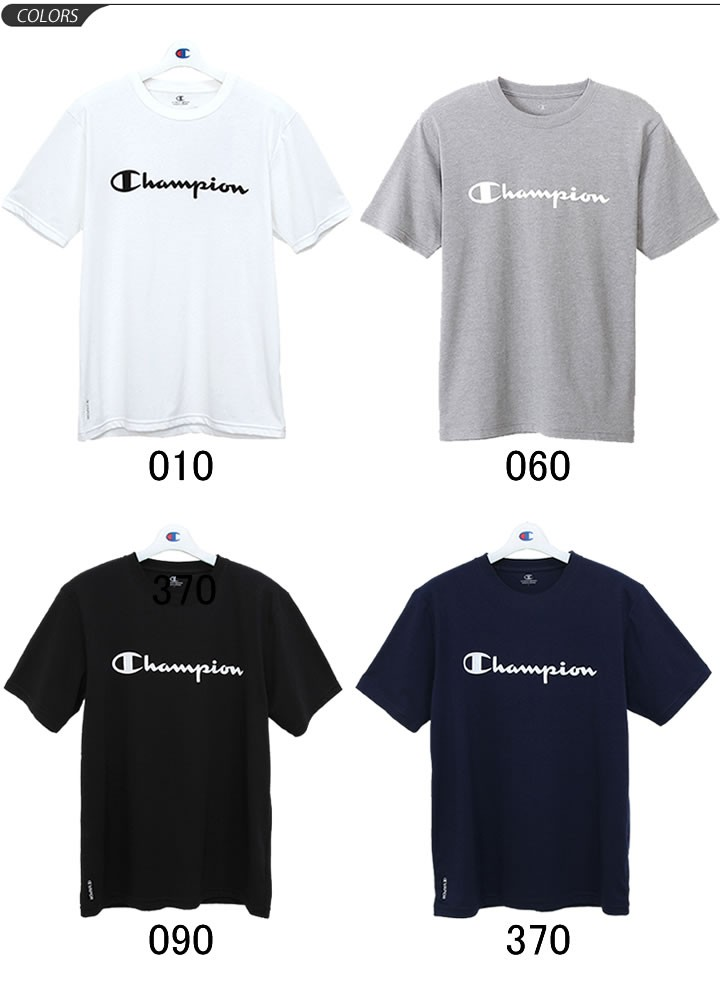 fd81f72f181dd Tシャツ 半袖 メンズ チャンピオン champion トレーニングシャツ ロゴT ...