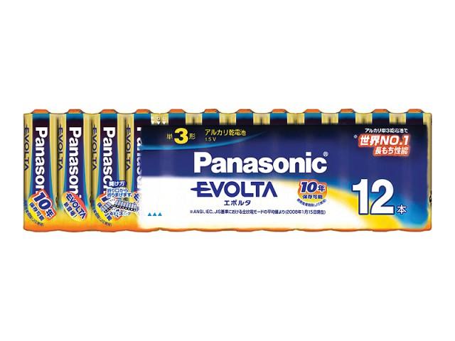 Panasonic[パナソニック]エボルタ乾電池単3形12本LR6EJ/12SW