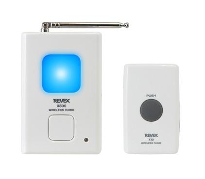 ワイヤレスチャイムXシリーズ 押しボタンチャイム ドアチャイム/玄関チャイム