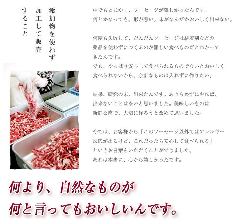 ゆうぼく無添加ハム・ベーコンセット画像4