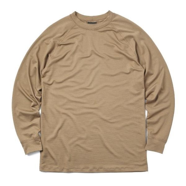 KENYON ケニヨン MADE IN USA 米軍使用 POLARTEC DELTA ロングスリーブ Tシャツ メンズ 長袖 ベースレイヤー インナー ポーラテックデルタ ミリタリー ブランド waiper 11