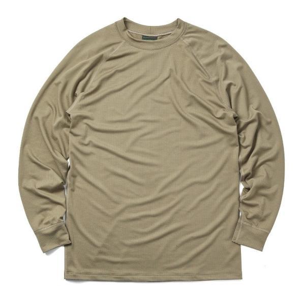 KENYON ケニヨン MADE IN USA 米軍使用 POLARTEC DELTA ロングスリーブ Tシャツ メンズ 長袖 ベースレイヤー インナー ポーラテックデルタ ミリタリー ブランド waiper 12