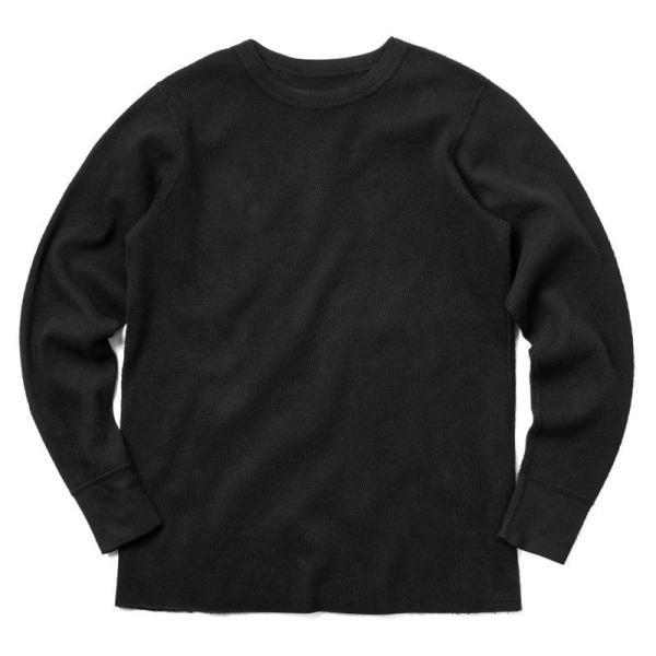 新品 米軍 コールドウェザーアンダーシャツ WAIPER.inc MADE IN USA メンズ サーマル Tシャツ ロンT ハニカムワッフル ミリタリー ブランド【Sx】|waiper|11