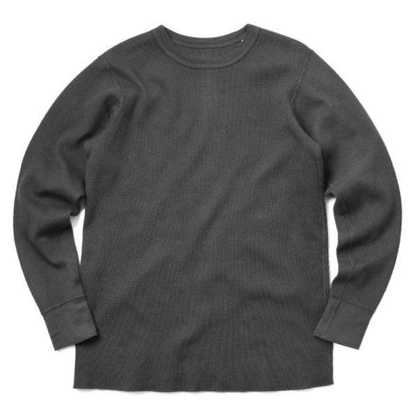 新品 米軍 コールドウェザーアンダーシャツ WAIPER.inc MADE IN USA メンズ サーマル Tシャツ ロンT ハニカムワッフル ミリタリー ブランド【Sx】|waiper|12