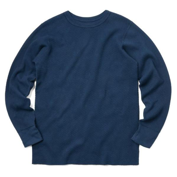 新品 米軍 コールドウェザーアンダーシャツ WAIPER.inc MADE IN USA メンズ サーマル Tシャツ ロンT ハニカムワッフル ミリタリー ブランド【Sx】|waiper|13