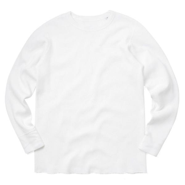 新品 米軍 コールドウェザーアンダーシャツ WAIPER.inc MADE IN USA メンズ サーマル Tシャツ ロンT ハニカムワッフル ミリタリー ブランド【Sx】|waiper|14