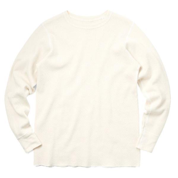 新品 米軍 コールドウェザーアンダーシャツ WAIPER.inc MADE IN USA メンズ サーマル Tシャツ ロンT ハニカムワッフル ミリタリー ブランド【Sx】|waiper|15