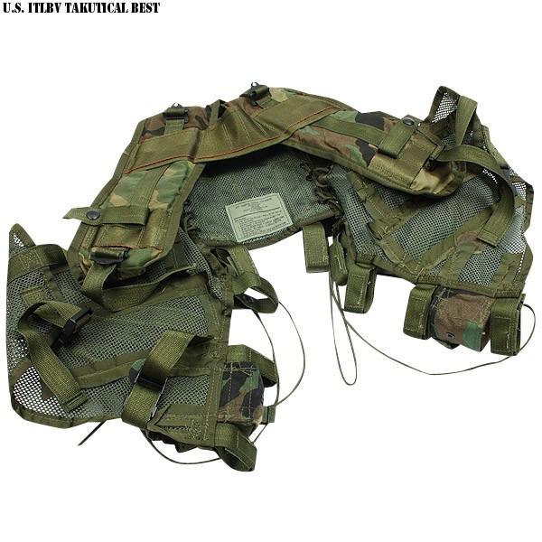 実物 新品 米軍ITLBV タクティカルベスト