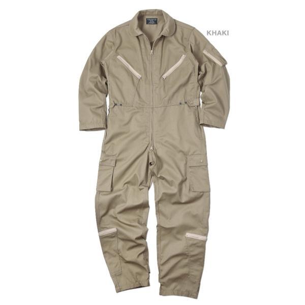 HOUSTON ヒューストン 5130 日本製 U.S.A.F(米空軍) K-2B フライトスーツ メンズ ミリタリー つなぎ カバーオール 作業服|waiper|27