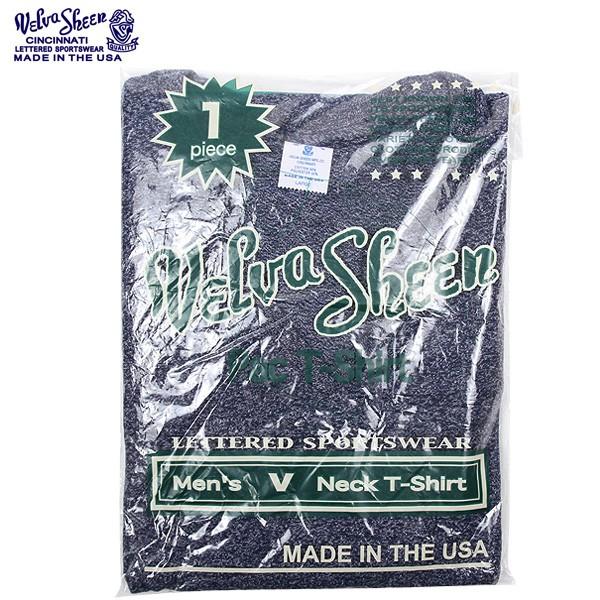 Velva Sheen ベルバシーン 1PAC S/S MOCK TWIST VネックTシャツ BLACK4