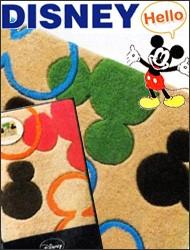大人でも楽しめるほどよくキュートなミッキーマウスの玄関マット