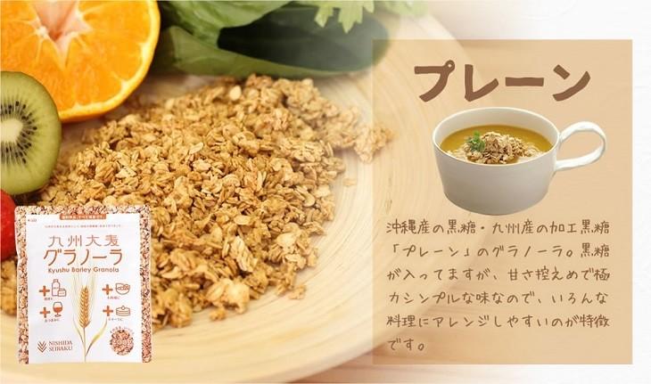 グラノーラ 西田精麦 九州大麦グラノーラ 200g×12袋 :22-SRL-160002-1 ...