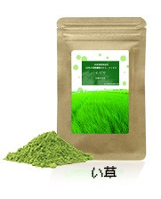 国産のい草 食べるい草 い草粉末カプセル