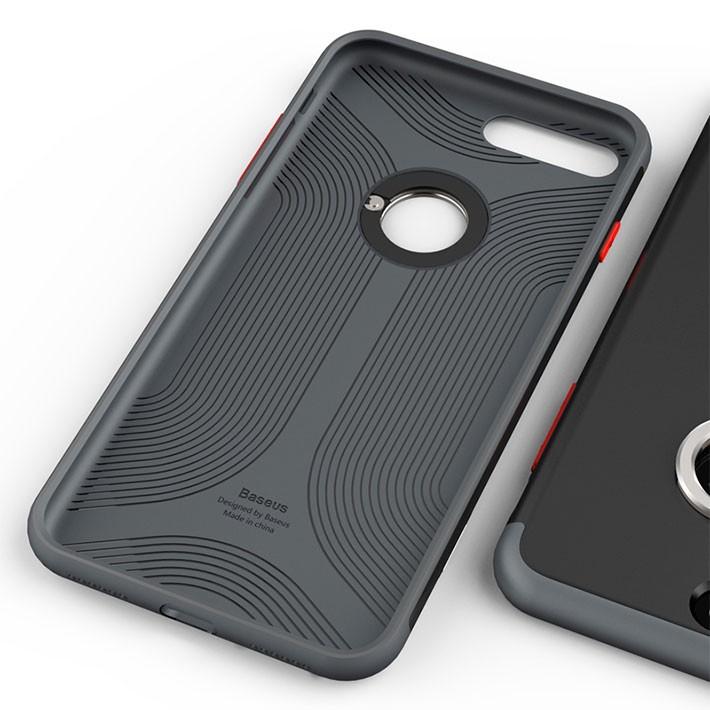 メール便 送料無料 ケース iPhone7 iPhone7plus バンカーリング フィンガーリング 落下防止