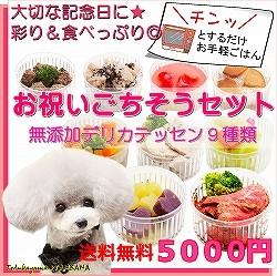 犬用、ごはん,記念日,セット,誕生日,送料無料,デリカテッセン,帝塚山,WANBANA,ワンバナ