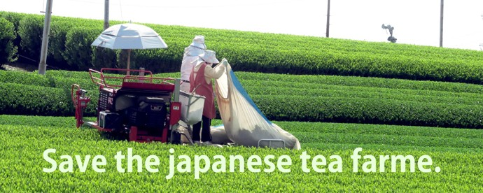 椀茶で茶葉生産者を支援