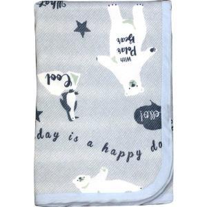 ペットべッド 夏用 犬ベッド 猫ベッド 犬用ベッド 猫用ベッド 接触冷感シロクマ柄 裏パイルブランケット IA-13 大阪杉本 (D)|wannyan|03