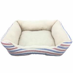 ペットべッド 夏用 犬ベッド 猫ベッド 犬用ベッド 猫用ベッド PPボーダーベッド パピー(D)|wannyan|05