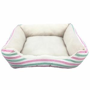 ペットべッド 夏用 犬ベッド 猫ベッド 犬用ベッド 猫用ベッド PPボーダーベッド パピー(D)|wannyan|06