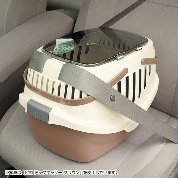 シートベルト固定機能付き。