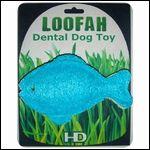 犬の歯磨きおもちゃ【フィッシュ】