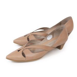 RABOKIGOSHI works パンプス ローヒール ラボキゴシワークス 12343 本革 レディース 靴 ポインテッドトゥ セール|Parade ワシントン靴店