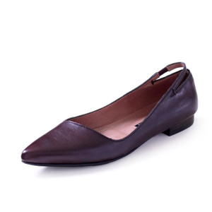 RABOKIGOSHI works パンプス ローヒール ラボキゴシワークス 靴 12389 フラットヒール 本革 ポインテッドトゥ レディース|Parade ワシントン靴店