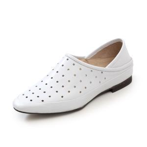 SAYA サヤ ラボキゴシ スリッポン パンチングレザー 50886 本革 シューズ ローヒール レディース 革靴 Parade ワシントン靴店