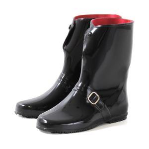 アキレス ニューロゼッタ カレン 長靴 RLB 4000 レインブーツ レディース ショート 前ボタン 日本製 軽量 レインシューズ|Parade ワシントン靴店