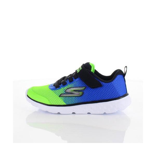 スケッチャーズ キッズ スニーカー Skechers GOrun 400-Kroto 97685L-BLLM 5L/58 ブルー グリーン 子供靴 運動 体育|washington|06