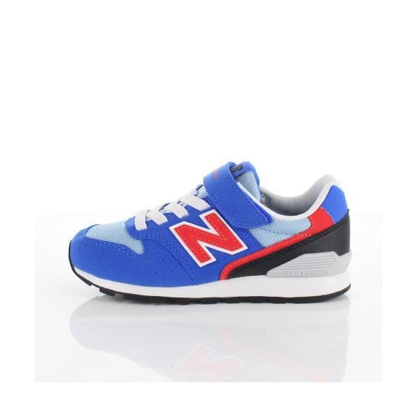ニューバランス キッズ スニーカー new balance YV996 BLR BLUE/RED 通学 体育|washington|06