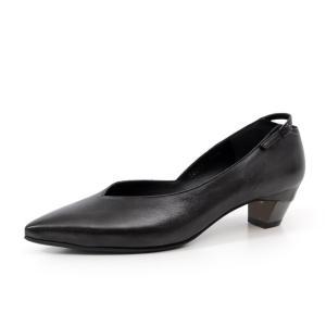ラボキゴシ ワークス RABOKIGOSHI works 靴 12242 パンプス ローヒール 本革 Vカット レディース ポインテッドトゥ セール|Parade ワシントン靴店
